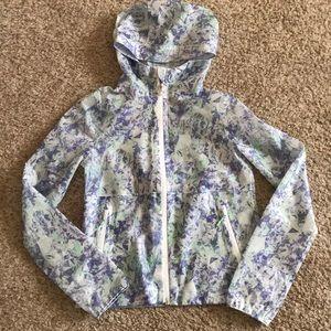 Girls Ivivva rain jacket. Size 12